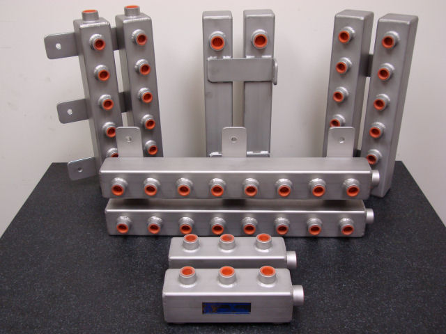 Water Manifolds for Plastic Injection Machines